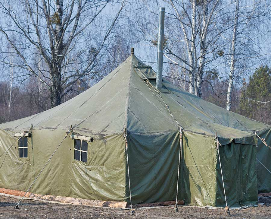 Tent Cover & Temporary Shelters